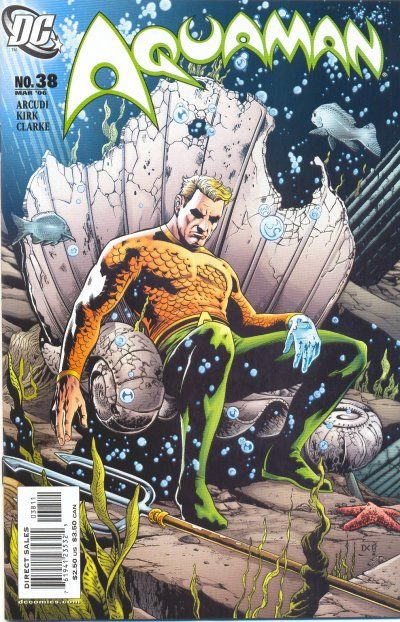 Cover for Aquaman (DC, 2003 series) #38