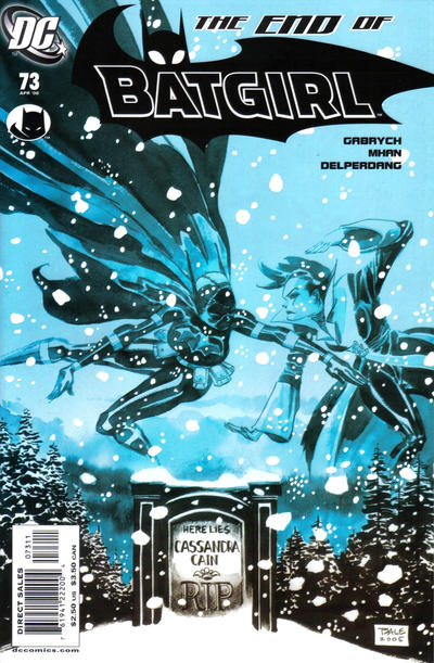 Cover for Batgirl (DC, 2000 series) #73