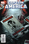 Cover for Captain America (Marvel, 2005 series) #7 [Direct Edition]