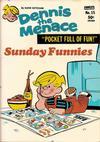 Cover for Dennis the Menace Pocket Full of Fun (Hallden; Fawcett, 1969 series) #15