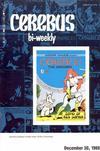 Cover for Cerebus Bi-Weekly (Aardvark-Vanaheim, 1988 series) #3
