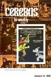 Cover for Cerebus Bi-Weekly (Aardvark-Vanaheim, 1988 series) #4