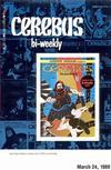 Cover for Cerebus Bi-Weekly (Aardvark-Vanaheim, 1988 series) #9