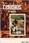Cover for Cerebus Bi-Weekly (Aardvark-Vanaheim, 1988 series) #10