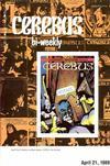 Cover for Cerebus Bi-Weekly (Aardvark-Vanaheim, 1988 series) #11