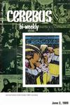 Cover for Cerebus Bi-Weekly (Aardvark-Vanaheim, 1988 series) #14