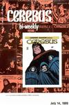 Cover for Cerebus Bi-Weekly (Aardvark-Vanaheim, 1988 series) #17
