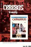 Cover for Cerebus Bi-Weekly (Aardvark-Vanaheim, 1988 series) #18