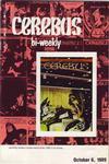 Cover for Cerebus Bi-Weekly (Aardvark-Vanaheim, 1988 series) #23