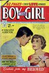 Cover for Boy Meets Girl (Lev Gleason, 1950 series) #1