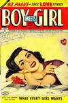 Cover for Boy Meets Girl (Lev Gleason, 1950 series) #4
