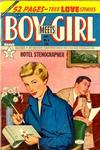 Cover for Boy Meets Girl (Lev Gleason, 1950 series) #5