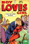 Cover for Boy Loves Girl (Lev Gleason, 1952 series) #37