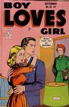 Cover for Boy Loves Girl (Lev Gleason, 1952 series) #38