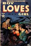 Cover for Boy Loves Girl (Lev Gleason, 1952 series) #45