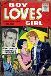 Cover for Boy Loves Girl (Lev Gleason, 1952 series) #52