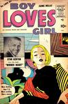 Cover for Boy Loves Girl (Lev Gleason, 1952 series) #57