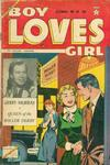 Cover for Boy Loves Girl (Lev Gleason, 1952 series) #49