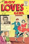 Cover for Boy Loves Girl (Lev Gleason, 1952 series) #54