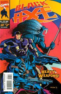 Cover Thumbnail for Black Axe (Marvel, 1993 series) #7