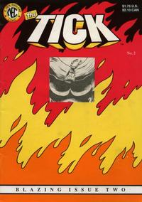 Cover Thumbnail for The Tick (New England Comics, 1988 series) #2 [Die-cut First Printing]