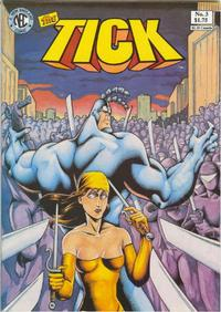 Cover Thumbnail for The Tick (New England Comics, 1988 series) #3