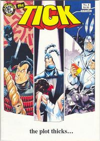 Cover Thumbnail for The Tick (New England Comics, 1988 series) #4