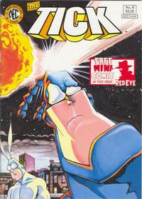 Cover Thumbnail for The Tick (New England Comics, 1988 series) #8 [first printing]