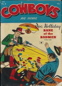 Cover Thumbnail for Cowboys and Indians (Superior Publishers Limited, 1951 series) #6