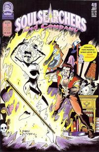 Cover Thumbnail for Soulsearchers and Company (Claypool Comics, 1993 series) #49
