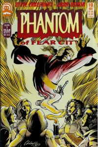 Cover for Phantom of Fear City (Claypool Comics, 1993 series) #10