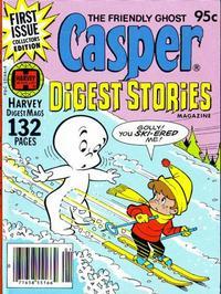 Cover Thumbnail for Casper Digest Stories (Harvey, 1980 series) #1