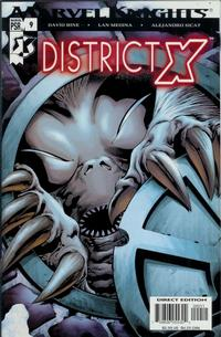 Cover Thumbnail for District X (Marvel, 2004 series) #9