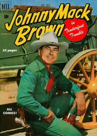 Cover Thumbnail for Johnny Mack Brown (Dell, 1950 series) #2