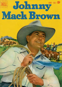 Cover Thumbnail for Johnny Mack Brown (Dell, 1950 series) #5