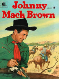 Cover Thumbnail for Johnny Mack Brown (Dell, 1950 series) #6
