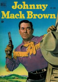 Cover Thumbnail for Johnny Mack Brown (Dell, 1950 series) #7