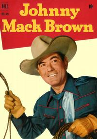 Cover Thumbnail for Johnny Mack Brown (Dell, 1950 series) #8