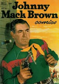 Cover Thumbnail for Johnny Mack Brown (Dell, 1950 series) #9