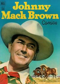 Cover Thumbnail for Johnny Mack Brown (Dell, 1950 series) #10