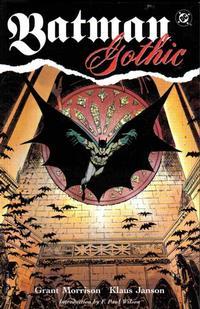 Cover Thumbnail for Batman - Gothic (DC, 1992 series) #[nn] [Second Printing]