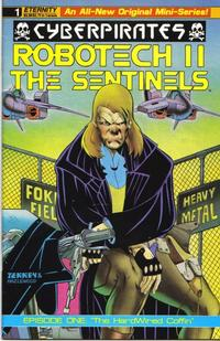 Cover Thumbnail for Robotech II: The Sentinels: Cyberpirates (Malibu, 1991 series) #1