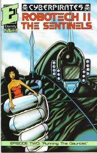 Cover Thumbnail for Robotech II: The Sentinels: Cyberpirates (Malibu, 1991 series) #2