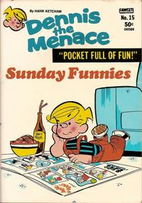 Cover Thumbnail for Dennis the Menace Pocket Full of Fun (Hallden; Fawcett, 1969 series) #15