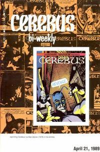 Cover Thumbnail for Cerebus Bi-Weekly (Aardvark-Vanaheim, 1988 series) #11