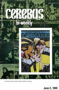 Cover Thumbnail for Cerebus Bi-Weekly (Aardvark-Vanaheim, 1988 series) #14