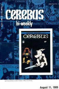 Cover Thumbnail for Cerebus Bi-Weekly (Aardvark-Vanaheim, 1988 series) #19