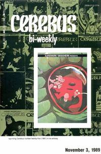 Cover Thumbnail for Cerebus Bi-Weekly (Aardvark-Vanaheim, 1988 series) #25