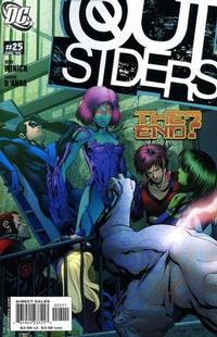 Cover Thumbnail for Outsiders (DC, 2003 series) #25