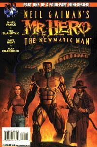 Cover Thumbnail for Neil Gaiman's Mr. Hero - The Newmatic Man (Big Entertainment, 1995 series) #15